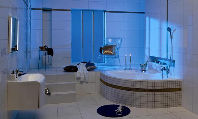 inspiration pour les grandes salles de bains ravak a s. Black Bedroom Furniture Sets. Home Design Ideas